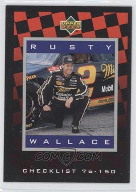1995 Upper Deck - [Base] - Silver Signatures/Electric Silver #150 - Rusty Wallace