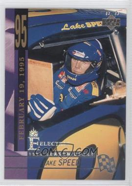 1995 Upper Deck - [Base] - Silver Signatures/Electric Silver #235 - Lake Speed