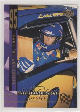 1995 Upper Deck - [Base] #235 - Lake Speed