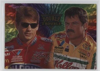 1995 Wheels Crown Jewels - [Base] - Ruby #1 - Jeff Gordon, Terry Labonte