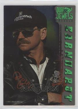 1995 Wheels Crown Jewels - Dual Jewels - Emerald #DJ1 - Dale Earnhardt, Jeff Gordon