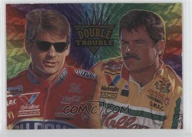 1995 Wheels Crown Jewels - Insert #GS1 - Jeff Gordon, Terry Labonte