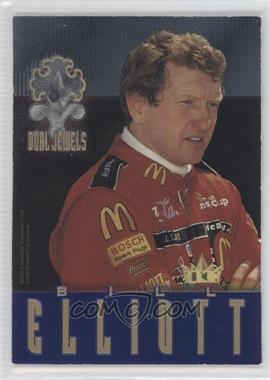1996 Crown Jewels Elite - Dual Jewels - Peridot #DJ4 - Bill Elliott, Mark Martin /399