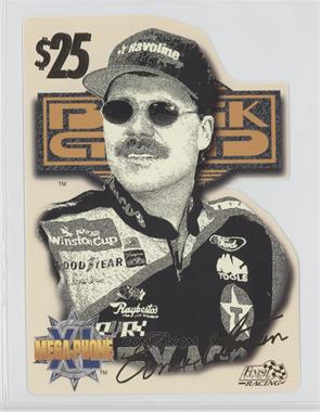 1996 Finish Line Racing Black Gold - Mega Phone XL Phone Card #ERIR - Ernie Irvan /2750
