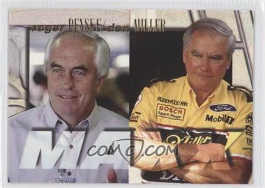 1996 Maxx - [Base] #55 - Roger Penske, Don Miller