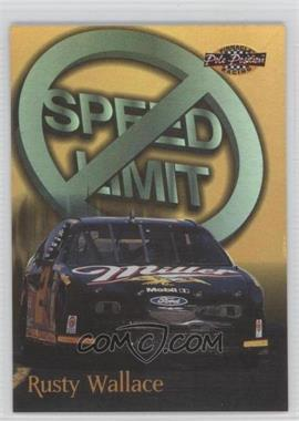 1996 Pinnacle Pole Position - No Limit - Gold #2 - Rusty Wallace