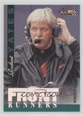 1996 Score Board Autographed Racing - FrontRunners #RYEI - Robert Yates, Ernie Irvan