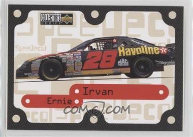 1996 Upper Deck Collector's Choice - Speedecals #S25 - Ernie Irvan