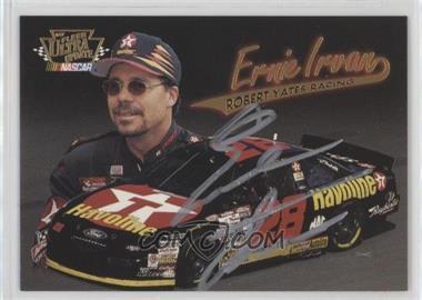 1997 Fleer Ultra Update - Autographs #8 - Ernie Irvan