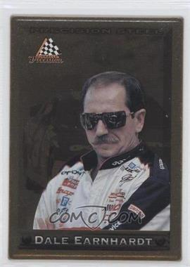 1997 Pinnacle - Precision Steel - Gold #18 - Dale Earnhardt