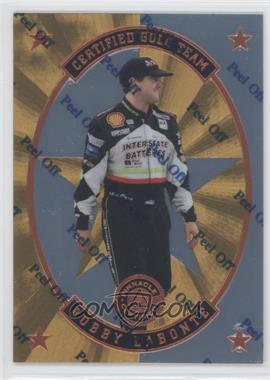 1997 Pinnacle Certified - Certified Team - Mirror Gold #4 - Bobby Labonte