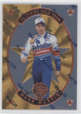 1997 Pinnacle Certified - Certified Team - Mirror Gold #7 - Mark Martin
