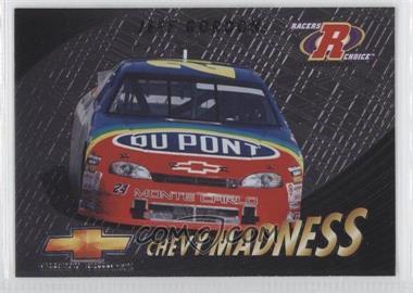 1997 Pinnacle Racers Choice - Chevy Madness #7 - Jeff Gordon