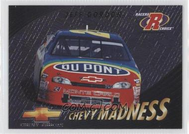 1997 Pinnacle Racers Choice - Chevy Madness #7 - Jeff Gordon