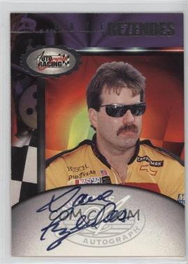 1997 Score Board Autographed Racing - Autographs #DARE - Dave Rezendes