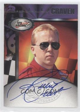 1997 Score Board Autographed Racing - Autographs #RICR - Ricky Craven
