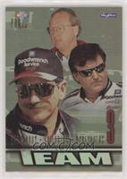 Dale Earnhardt, Richard Childress, Larry McReynolds