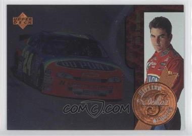 1997 Upper Deck Road to the Cup - Million Dollar Memoirs #MM6 - Jeff Gordon