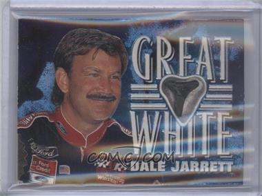 1997 Wheels Race Sharks - Great White Tooth Relics #GW4 - Dale Jarrett /500