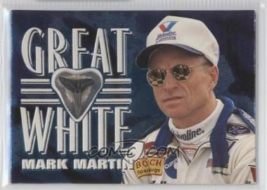 1997 Wheels Race Sharks - Great White Tooth Relics #GW6 - Mark Martin /500