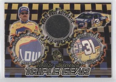 1998 Press Pass - Triple Gear - Burning Rubber #STG 7 - Mike Skinner /250