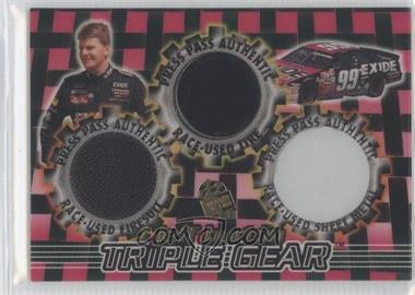 1998 Press Pass - Triple Gear #STG 18 - Jeff Burton