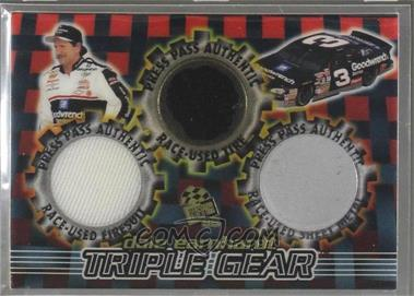 1998 Press Pass - Triple Gear #STG 2 - Dale Earnhardt /33