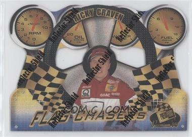 1998 Press Pass Premium - Flag Chasers - Reflectors #FC 17 - Ricky Craven