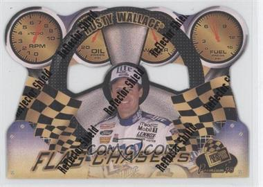 1998 Press Pass Premium - Flag Chasers - Reflectors #FC 6 - Rusty Wallace