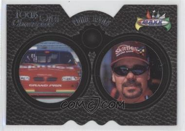 1998 Upper Deck Maxx - Focus on a Champion - Laser Cut #FC14 - Ernie Irvan
