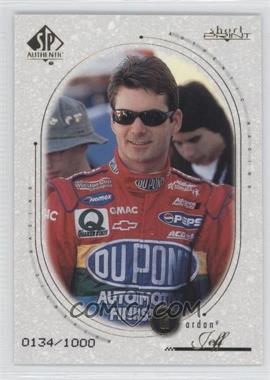 1999 SP Authentic - [Base] #82 - Jeff Gordon /1000