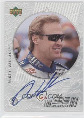1999 Upper Deck Road to the Cup - Signature Collection #RW - Rusty Wallace