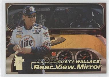 2000 Press Pass VIP - Rear View Mirror - Explosives #RV-2 - Rusty Wallace