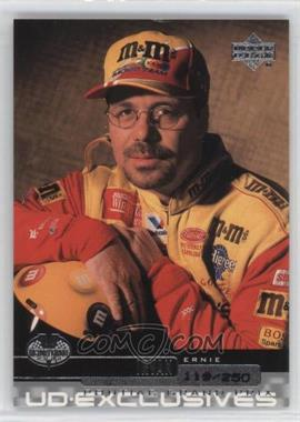 2000 Upper Deck Victory Circle - [Base] - Exclusives Level 1 Silver #30 - Ernie Irvan /250