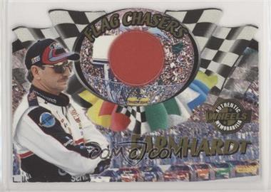 2000 Wheels High Gear - Flag Chasers - Red Flag [Memorabilia] #FC 3 - Dale Earnhardt /65