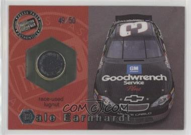 2001 Press Pass Optima - Race-Used Lugnuts - Cars #LC 10 - Dale Earnhardt /50 [Noted]