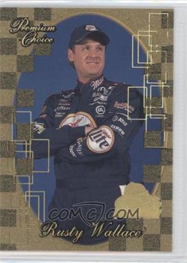 2001 Press Pass Premium - [Base] - Gold Holo #81 - Rusty Wallace