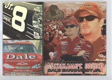 2001 Press Pass Premium - Performance Driven #PD 2 - Dale Earnhardt Jr.
