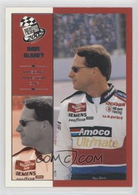 2002 Press Pass - [Base] #2 - Dave Blaney