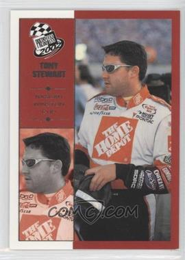 2002 Press Pass - [Base] #34 - Tony Stewart