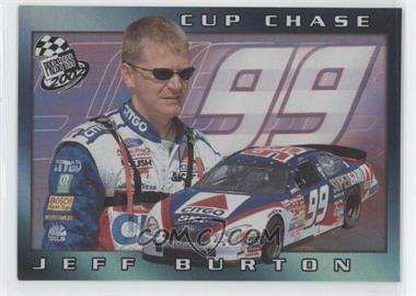 2002 Press Pass - Cup Chase Redemptions #CCR 1 - Jeff Burton