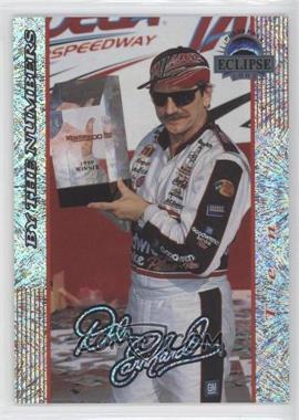 2002 Press Pass Eclipse - Dale Earnhardt By the Numbers - Celebration Foil #DE 42 - Dale Earnhardt /250