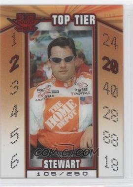2002 Wheels High Gear - Top Tier - Numbered #TT 2 - Tony Stewart /250
