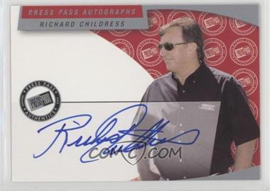2003 Press Pass - Autographs #RICH - Richard Childress