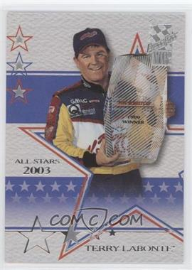 2003 Press Pass VIP - [Base] - Laser Explosive #LX32 - Terry Labonte /240