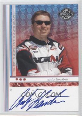 2003 Wheels - Autographs #ANHO - Andy Houston