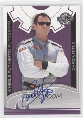 2003 Wheels High Gear - Autographs #CHLI - Chad Little
