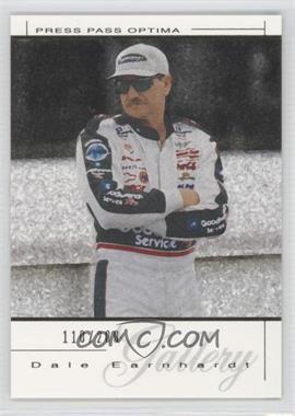 2004 Press Pass Premium - Dale Earnhardt Gallery - Gold #DEG 41 - Dale Earnhardt /200