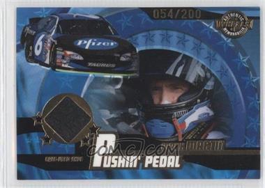 2004 Wheels American Thunder - Pushin' Pedal Shoes #PP 12 - Mark Martin /200