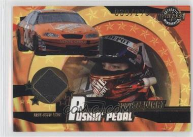 2004 Wheels American Thunder - Pushin' Pedal Shoes #PP 15 - Tony Stewart /275